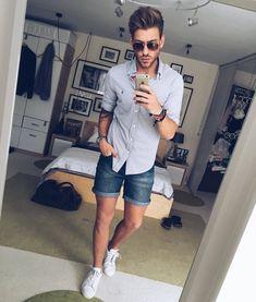 casual street style men