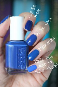 Essie Spring 2017 B Aha Moment Collection Review Swatches Comparisons