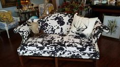 Local Companies, Black And White Fabric, Madness, Love Seat, Upcycle, Upholstery, Owl, Couch, Inspiration