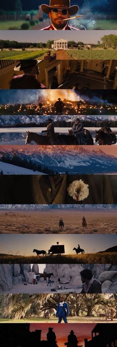 Django Unchained (2012) - Cinematography by Robert Richardson   Directed by Quentin Tarantino.