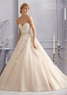Mori Lee - 2690 - All Dressed Up, Bridal Gown