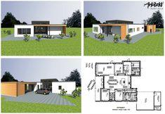 #arkitekttegnet #hus #funkis #funkishus #arkitekthuset #drømmebolig #bolig #boligdrøm #nybygger Vejle, Odense, Floor Plans, Floor Plan Drawing, House Floor Plans