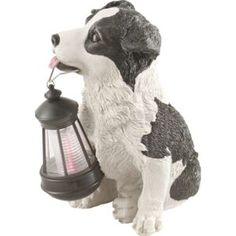 Solar Garten LED Deko Lampe Hof Leuchte Retriever Figur Hund Beleuchtung Außen