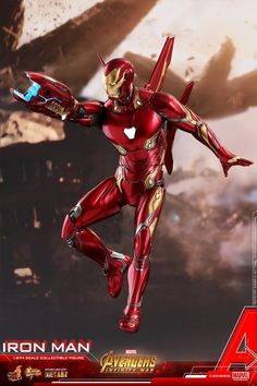 Avengers: Infinity War - 1/6th scale Iron Man Collectible Figure From Hot Toys #Marvel