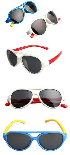 8c62b69fe18 Sunglasses 131411  2 Pack Kids Aviator Polarized Sunglasses Gifts For Boys  And Girls Toddlers Age 3 -  BUY IT NOW ONLY   48.54 on eBay!
