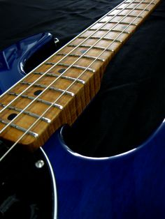 PDN Stingray in Neptune Blue with possibly the best figured roasted maple neck that i have ever seen!