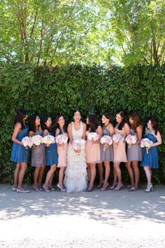 Photography By / corbingurkin.com, Bridesmaid Dresses by http://www.ivyandaster.com/, Floral Design By / theflowerhouse.com