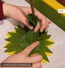 Подсолнух из бумаги Paper Sunflowers, Crepe Paper, Blog, Classroom, Art, Felt Flowers, Paper Envelopes, Meet, Blogging