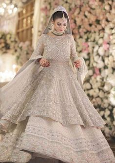 The Effective Pictures We Offer You About Bridal Outfit honeymoons A quality picture can tell you many things. You can find the most beautiful pictures that can be presented to you about Bridal Outfit Asian Bridal Dresses, Pakistani Wedding Outfits, Simple Pakistani Dresses, Indian Bridal Outfits, Indian Bridal Fashion, Pakistani Bridal Dresses, Pakistani Wedding Dresses, Pakistani Dress Design, Pakistani Wedding Hairstyles
