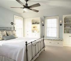 Bedroom Builtins On Pinterest Window Seats Small Space
