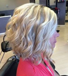 Cute curly layers for short hair and tons of other cute dos.