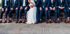 Fun socks for the groomsmen! wedding photography by mphillipsstudios.com