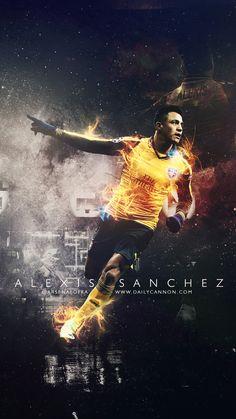 World Class - Alexis Sanchez Arsenal Fc, Graphic Design Inspiration, Nice, Sports, Movie Posters, Movies, Ideas, Photo Illustration, Films