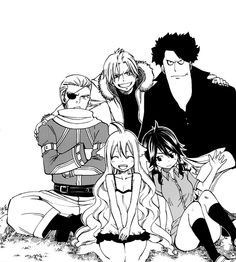 Fairy Tail's firsts.     Yup!!! Mavis was right with Fairy Tail.