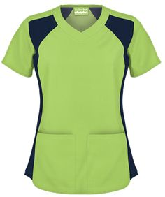 UA Butter-Soft Women's V-Neck Scrub Top with Knit Side insert style Scrub Suit Design, Scrubs Uniform, Uniform Advantage, Medical Scrubs, Nursing Clothes, Scrub Tops, Work Fashion, Work Wear, Caregiver