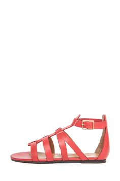 76c5c54dfd4a Chloe Leather Gladiator Sandals in Fiamma