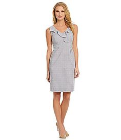 Antonio Melani Vicky Striped Seersucker Dress #Commandress