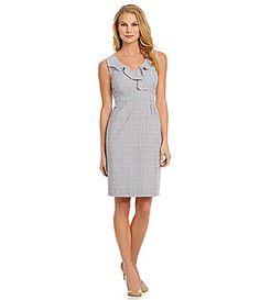 Antonio Melani Vicky Striped Seersucker Dress #Commandress
