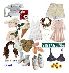 """carolina"" by sunsetsandflowers on Polyvore featuring Hollister Co., Thalia Sodi, Usagi, H&M, STELLA McCARTNEY, adidas and Polaroid"
