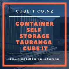 Are you searching for portable storage in Tauranga? At Cube It we bring it to you! We'll deliver, you pack and we'll collect and store. Portable Self-Storage Unit. Call Cube It today 0800 282 Cube Store, School Equipment, Temporary Storage, Self Storage Units, Storage Center, Storage Facility, Storage Containers, Storage Solutions, Searching