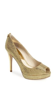 MICHAEL Michael Kors 'York' Platform Pump available at #Nordstrom