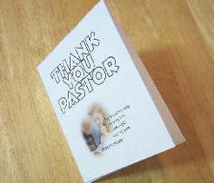 October is Pastor Appreciation Month. Have children in school or Sunday School write a thank you to their pastor on the inside of this card. Download from http://www.teacherhelp.org/holidays4.htm