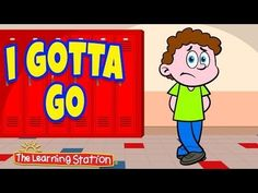 """""""I Gotta Go"""" is a fun way to teach children bathroom manners, etiquette and proper hand-washing. This music video is ideal for toddlers, preschool and kindergarten children."""
