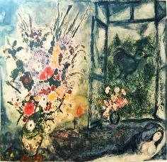 Check out this item in my Etsy shop https://www.etsy.com/listing/464149565/chagall-finestra-aperta-bouquet-by-the