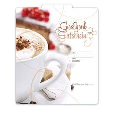 Geschenkgutschein für Cafés Restaurant, Tableware, Fine Dining, Things To Do, Cards, Gifts, Dinnerware, Diner Restaurant, Dishes