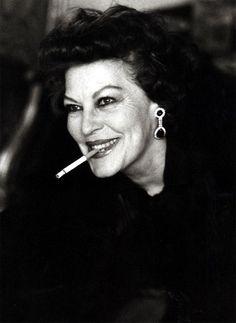 Ava Gardner, Londra 1984