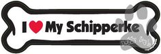 I Love My Schipperke Dog Bone Magnet http://doggystylegifts.com/products/i-love-my-schipperke-dog-bone-magnet