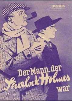 Progress-Filmillustrierte Nr. 79/54 - Der Mann, der Sherlock Holms war