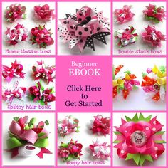 Free boutique hair bow instructions image by southern-belle-bows on Photobucket