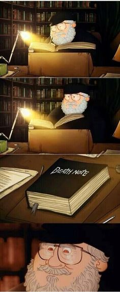 George RR Martin #DeathNote #GameofThrones - well that would explain a lot...