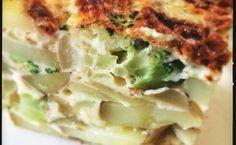 kartoffelæggekage med broccoli