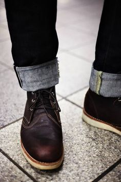 {STYLE INSPIRATION FOR MEN} Boots and turn ups!