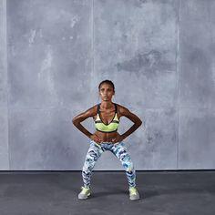 Plyometric Workout with Jasmine Tookes - Victoria's Secret