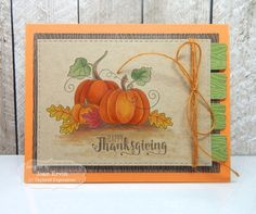 Taylored Expressions - Happy Thanksgiving by Joan Ervin* #thanksgiving #fall…