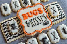 "Lizy B: ""Bugs  Kisses"" Halloween Cookies!"