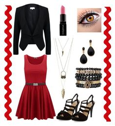 """Red. "" by marie-detaille on Polyvore"