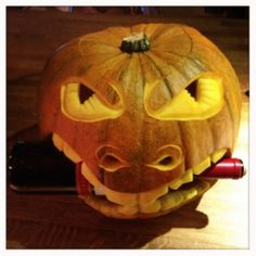- PUMPKIN CARVING FOR WINE RACK IN GERRARDS CROSS Wine Rack commissioned 3 pumpkins for their shop in Gerrards Cross to promote their offers in October 2012.