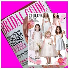 Front and center in the May/June issue of #BridalGuideMag! Pick it up today! #Page60 #UsAngels #FashionFriday