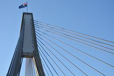 Anzac Bridge George Washington Bridge, Sydney, Skyscraper, Multi Story Building, Travel, Fotografia, Pictures, Skyscrapers, Viajes