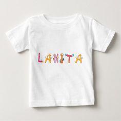 Lanita Baby T-Shirt - baby gifts child new born gift idea diy cyo special unique design