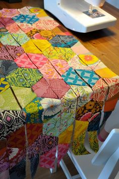 Half Hexagons Quilt