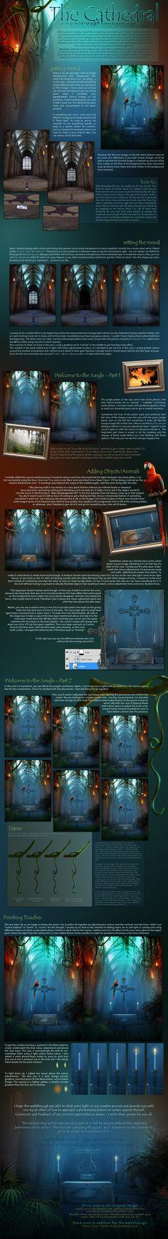 Walkthrough - The Cathedral by kuschelirmel-stock on deviantART