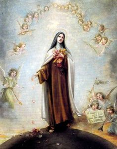 """... I will let fall a shower of roses. I will spend my heaven doing good upon earth. I will raise up a mighty host of little saints. My mission is to make God loved...""   —St. Therese of Lisieux"
