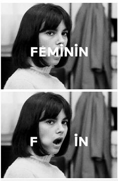 main character // styling // titles. chantal goya Masculin, féminin par Jean Luc Godard