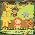 Jungle themed baby shower games