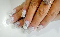 Fotos de unhas decoradas para noivas (nail art) - Ana Paula Villar